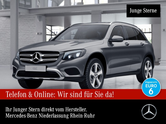 Mercedes-Benz GLC 350 d 4M Exclusive COMAND ILS LED Kamera PTS, Jahr 2017, Diesel