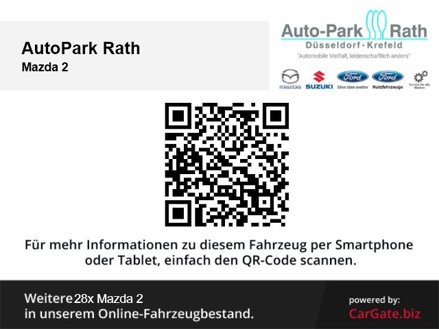 Mazda 2 Prime-Line 75 PS Klimaanlage*Ganzjahresreifen*, Jahr 2017, Benzin