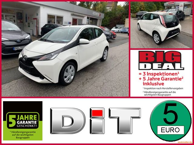 Toyota Aygo 1,0 X Business-Paket Klima, CD-Radio MP3, Jahr 2015, Benzin