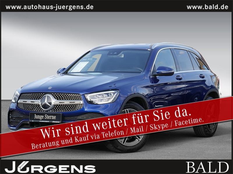 Mercedes-Benz GLC 300 4M AMG-Sport/Navi/LED/Park-P/AHK/Spur-P, Jahr 2019, Benzin