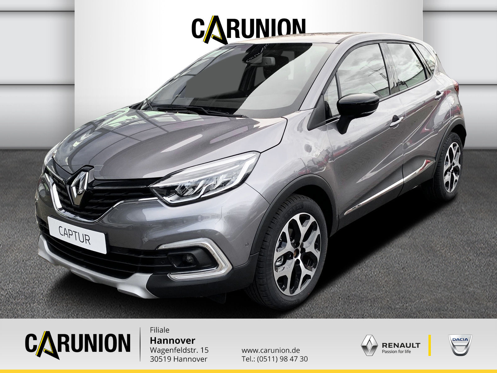 Renault Captur Intens TCe 90, Jahr 2019, Benzin
