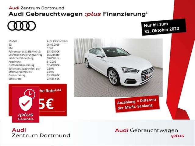 Audi A5 Sportback sport 35TDI S tronic/Navi/LED/AHK/DAB, Jahr 2019, Diesel