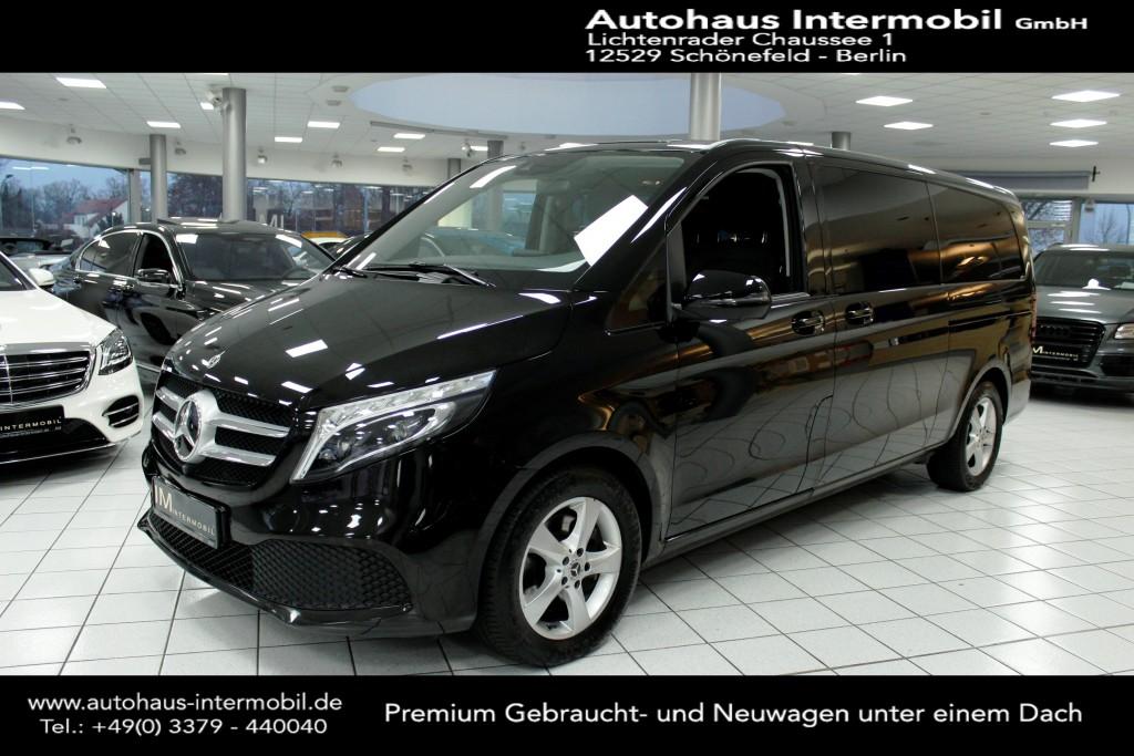 Mercedes-Benz V 300 d extra lang*Distronic*Leder*8-Sitze*LED, Jahr 2019, Diesel