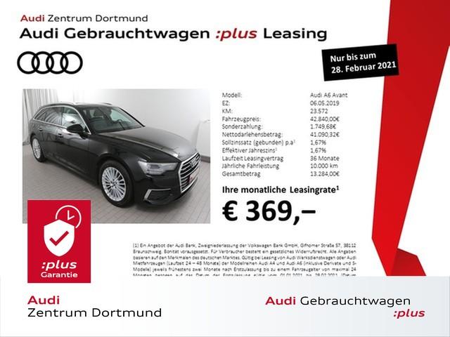 Audi A6 Avant 45TDI qu. Navi+/Pano/DAB/AHK/Leder, Jahr 2019, Diesel
