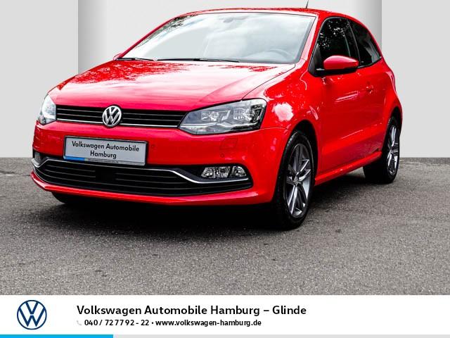 Volkswagen Polo 1.2 TSI Allstar/LED-Scheinwerfer, Jahr 2016, Benzin