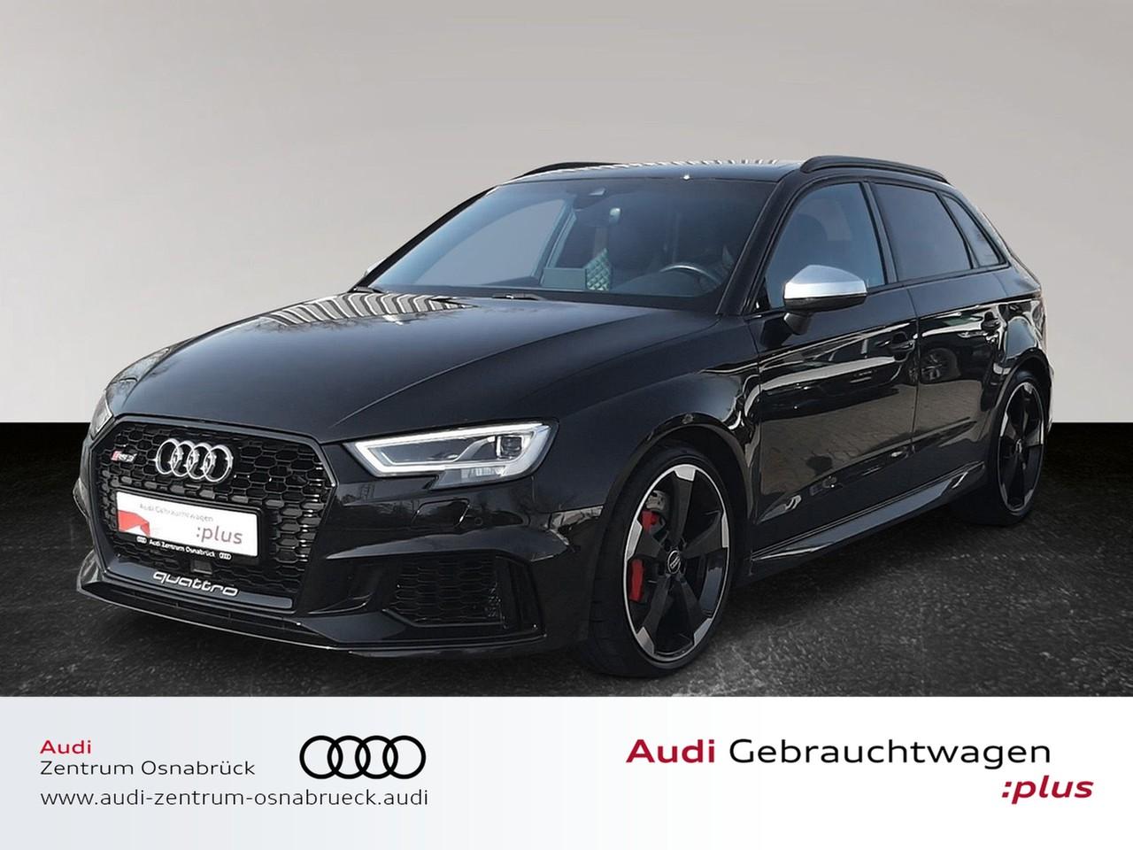 Audi RS3 Sportback 2.5 TFSI S tronic quattro ACC Matrix B&O VirtualCP RFK Navi Pano, Jahr 2018, Benzin