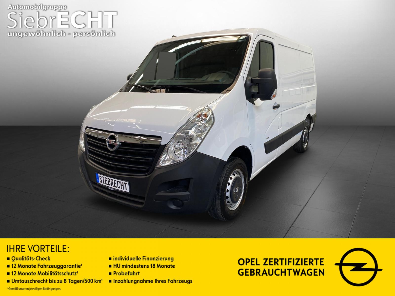 Opel Movano Ka L1H1 2,8t 2.3 D*Audio CD*Klima*AUX-IN, Jahr 2019, Diesel