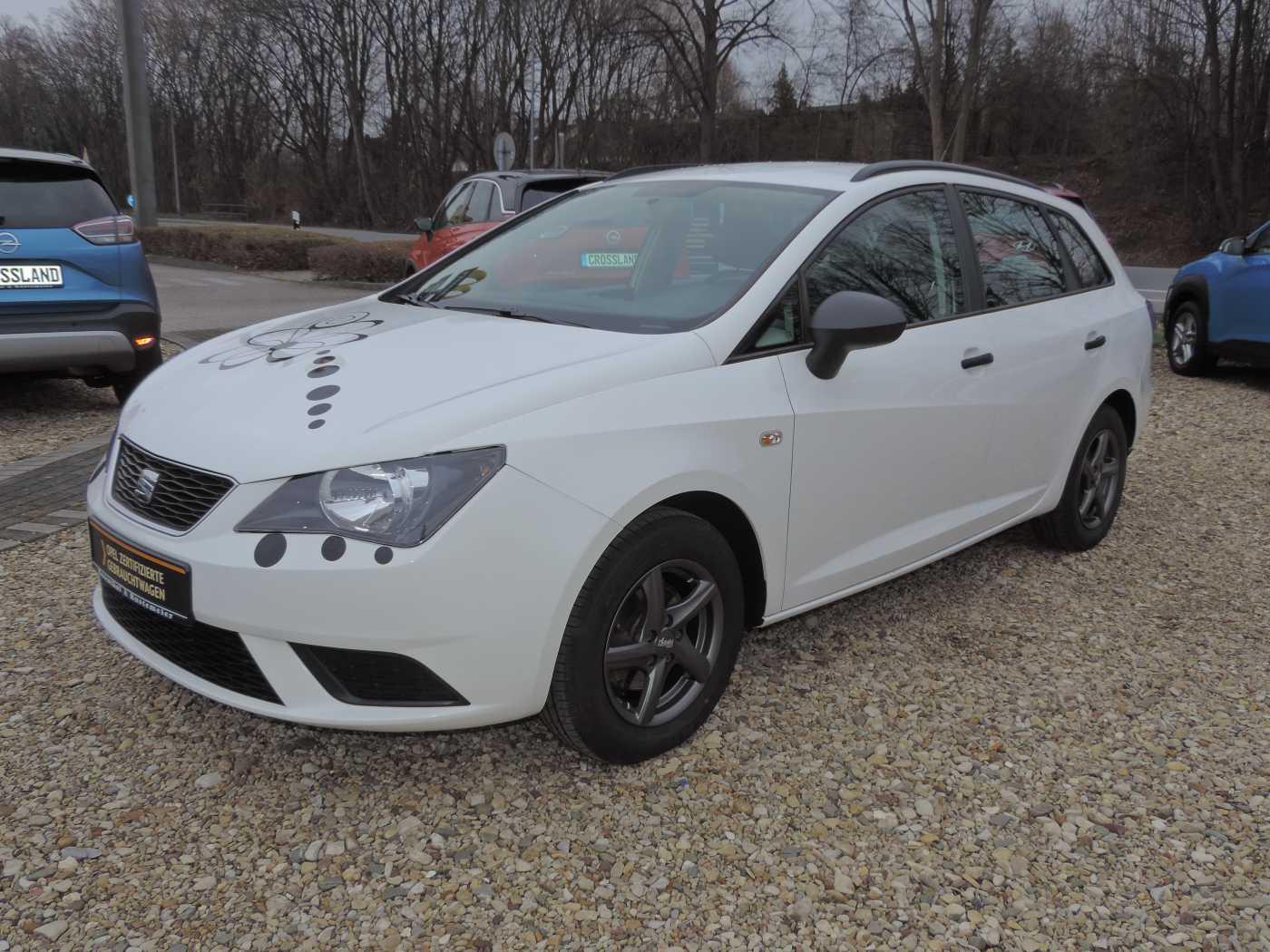 Seat Ibiza ST 1.4 16V KLIMA+CD-RADIO, Jahr 2014, Benzin