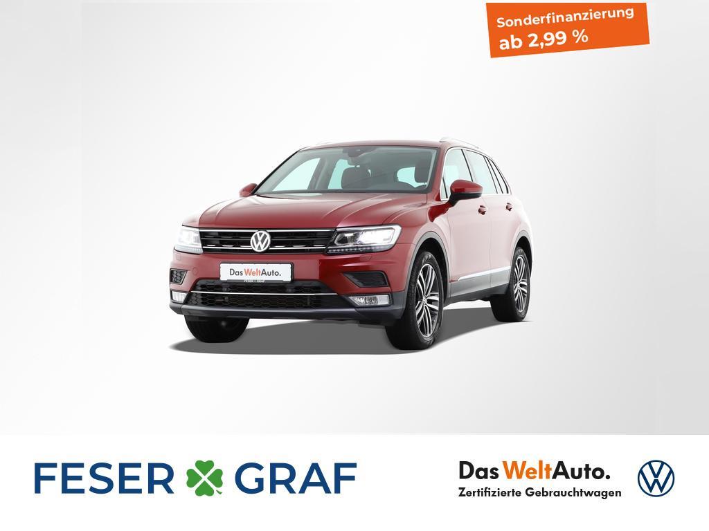 Volkswagen Tiguan 2.0 TDI Highline 4Motion DSG (DPF) Schieb, Jahr 2016, Diesel
