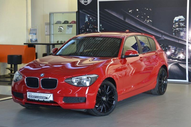 BMW 116i 5-Türer Sitzheizung FSE USB PDC Radio Prof., Jahr 2013, petrol