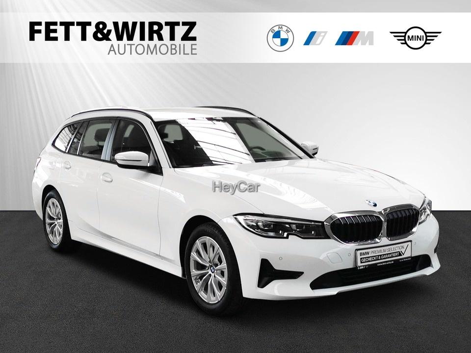 BMW 318d Touring Adv. Aut. HUD Leas ab 360,-br.o.Anz, Jahr 2020, Diesel