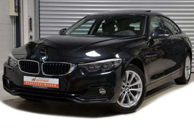 BMW 440i Gran Coupe xDrive Aut. Sport Line -- NP72, Jahr 2019, petrol