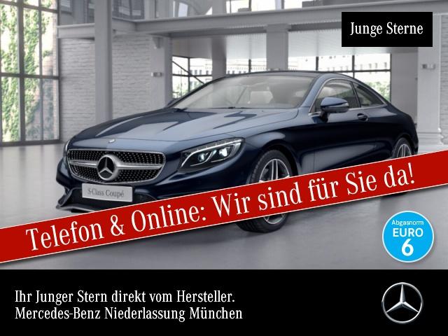 Mercedes-Benz S 400 Cp. 4M AMG designo Fahrass 360° Airmat HUD, Jahr 2016, Benzin