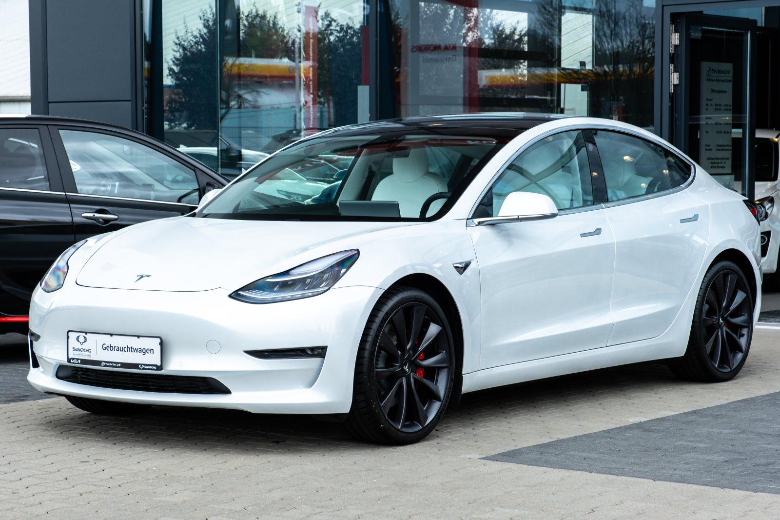 Tesla Model 3 Performance+AWD+79kW+Werksgarantie+, Jahr 2020, Elektro