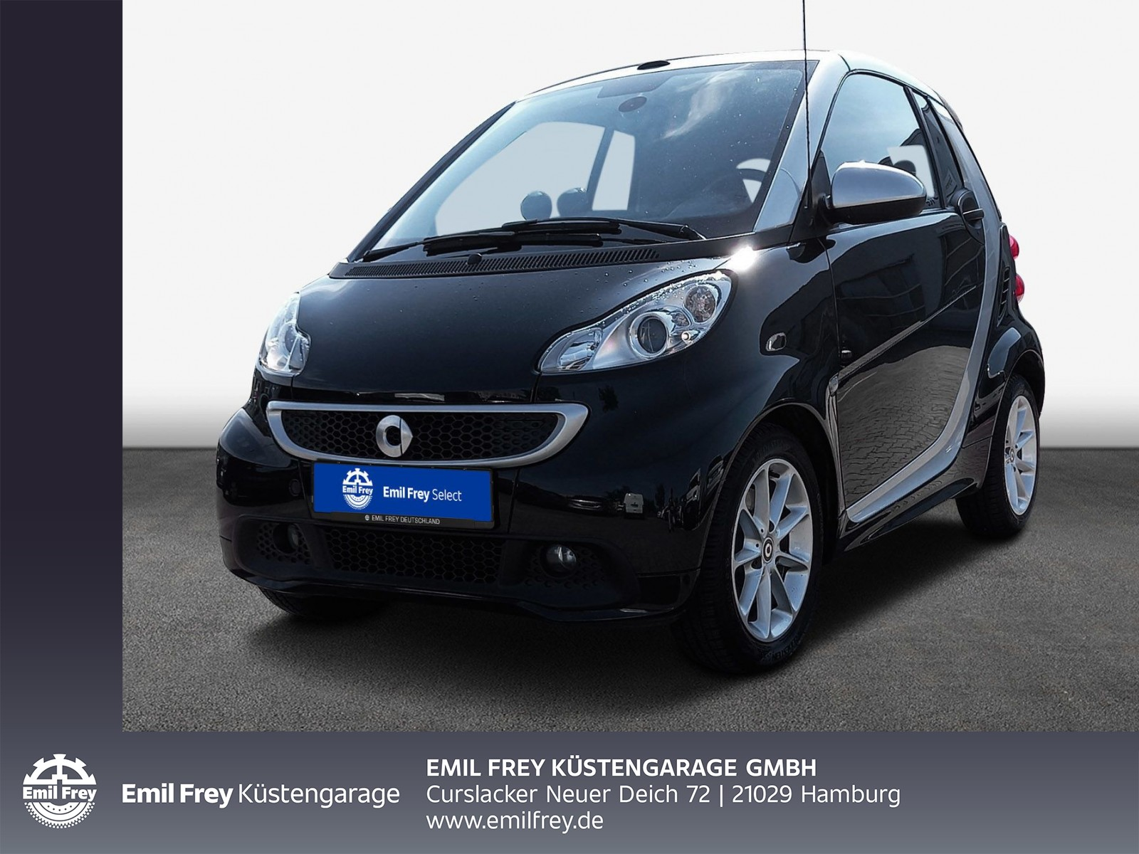 smart fortwo cabrio softouch mhd Edition Alu, Navi, Jahr 2013, Benzin