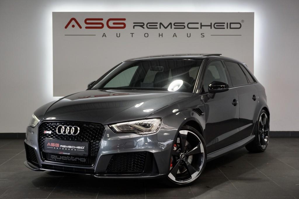 Audi RS3 Sportback q. *ABT *1.Hand *AbGas *Pano *B&O*, Jahr 2015, Benzin