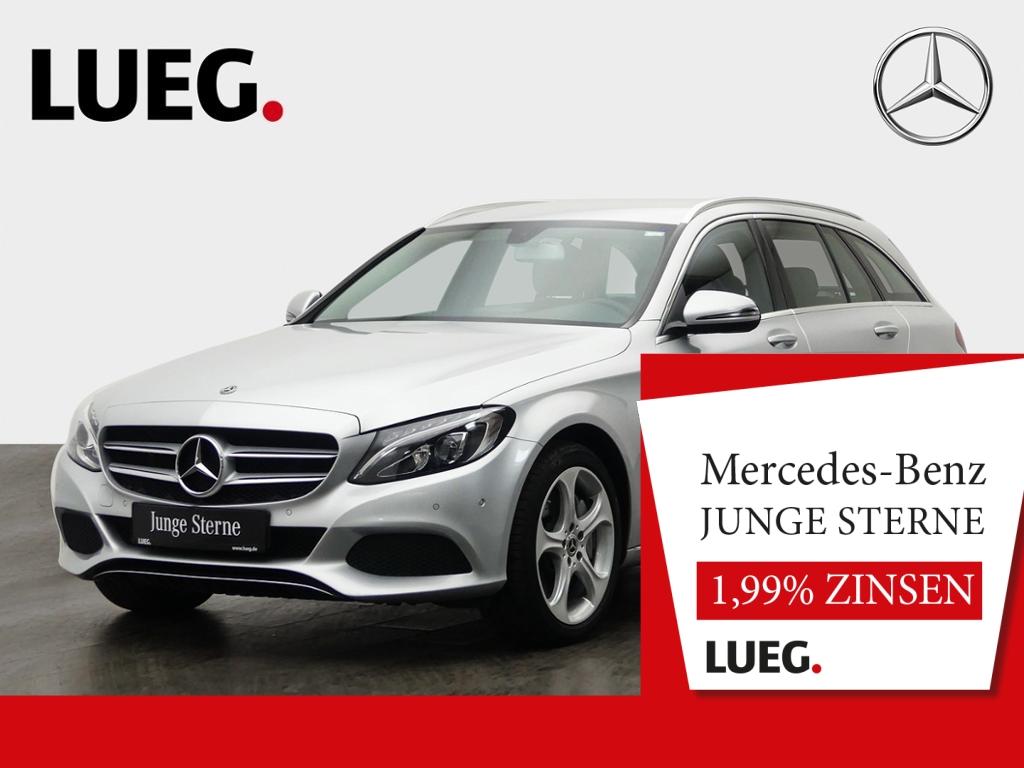 Mercedes-Benz C 350 e T Avantgarde+Navi+Airm+LED-HP+AHK+18+PTS, Jahr 2018, Hybrid