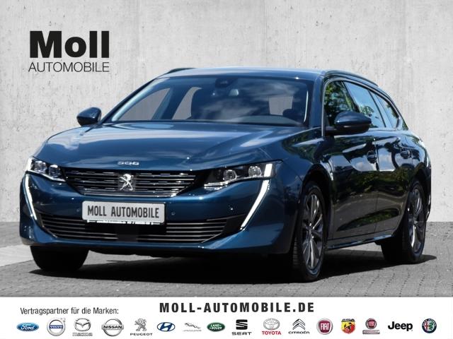 Peugeot 508 SW Allure 1.6 PureTech 180 EU6d LED Navi Keyless e-Sitze ACC Parklenkass. Rückfahrkam., Jahr 2020, Benzin