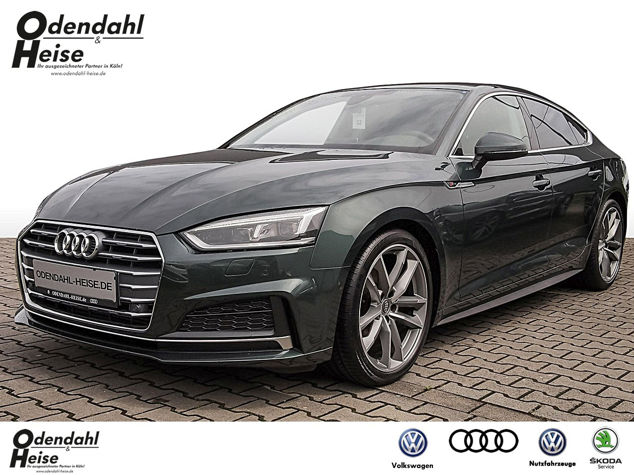 Audi A5 Sportback sport 2.0 TFSI S tronic Klima Navi, Jahr 2018, Benzin