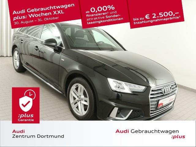 Audi A4 Avant 40TFSI S line/ACC/Navi+/Leder/DAB, Jahr 2019, Benzin