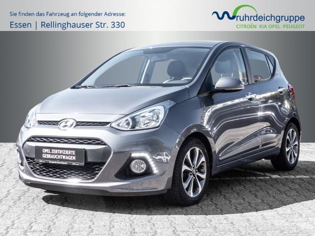 Hyundai i10 Style 1.2 *Schiebedach+PDC+SHZ+LHZ+Keyless*, Jahr 2014, Benzin