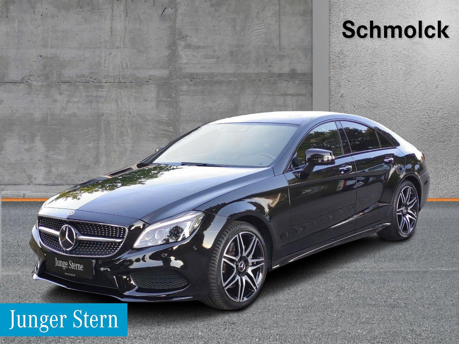 Mercedes-Benz CLS 350d 4M AMG/NIGHT/360°/LED/COMAND/DSTR/NP99K, Jahr 2017, Diesel