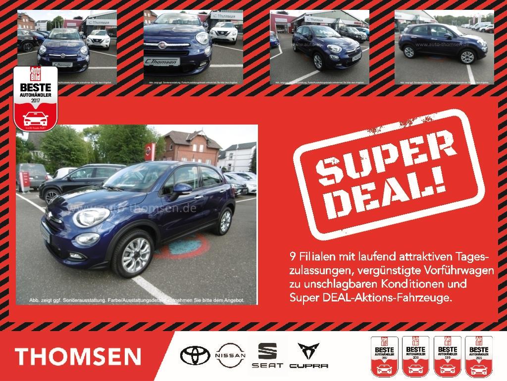 Fiat 500X CITY LOOK 1.4 EU6 Keyless Spurh. Kurvenl., Jahr 2015, Benzin