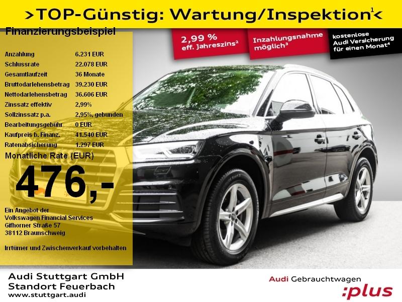 Audi Q5 Sport 2.0 TFSI quattro Matrix-LED VC Navi, Jahr 2018, Benzin