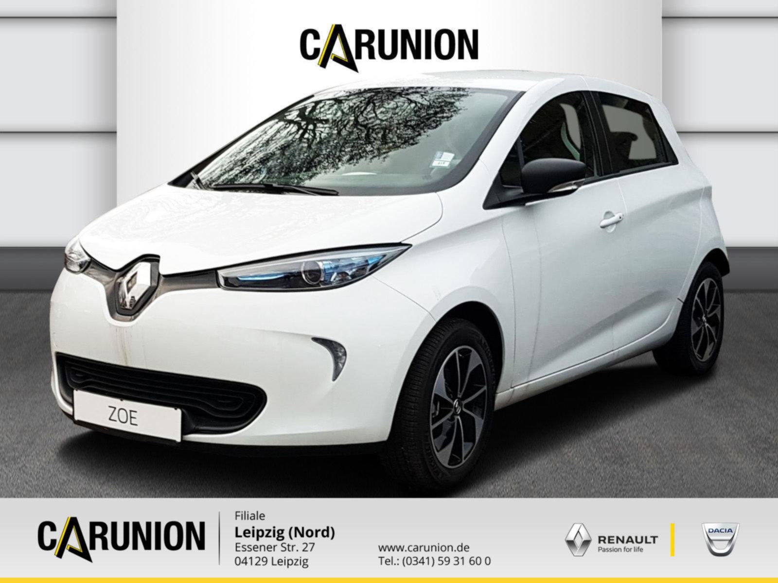 Renault ZOE LIFE Z.E.40 90 Batteriemiete Klimaauto.,Navi, Jahr 2020, Elektro