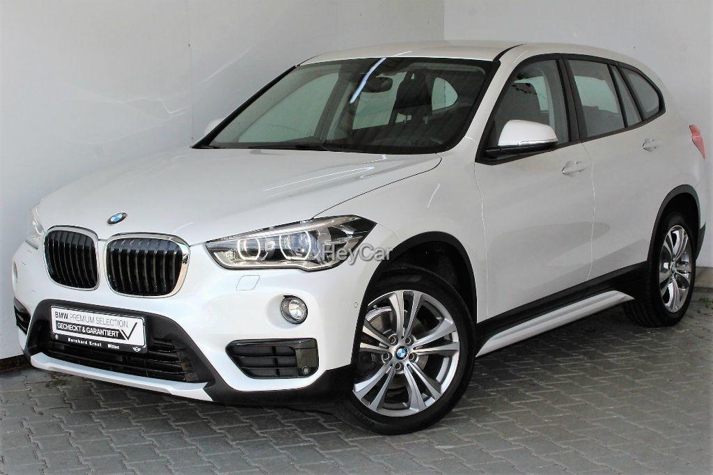 BMW X1 sDrive18i Sport Line Aut. Klimaaut. PDC RFT, Jahr 2017, Benzin