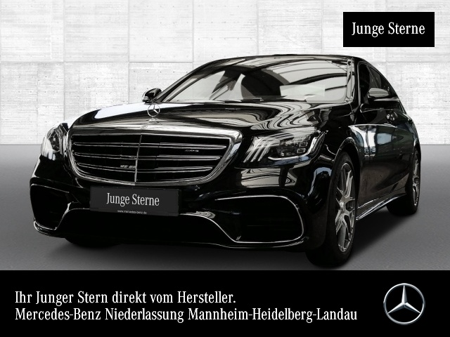 Mercedes-Benz S 63 4MATIC lang Sportpaket Bluetooth Navi LED, Jahr 2017, Benzin