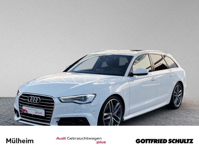Audi A6 Avant 3.0 TDI S-tronic HEAD-UP DAB BOSE STANDHEIZ. PANO AHK KAMERA, Jahr 2018, Diesel