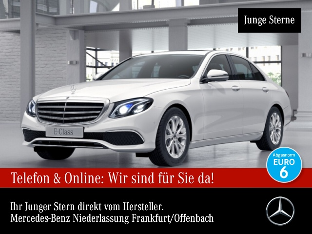 Mercedes-Benz E 220 d Avantgarde Exclusive Multibeam COMAND PTS, Jahr 2017, Diesel