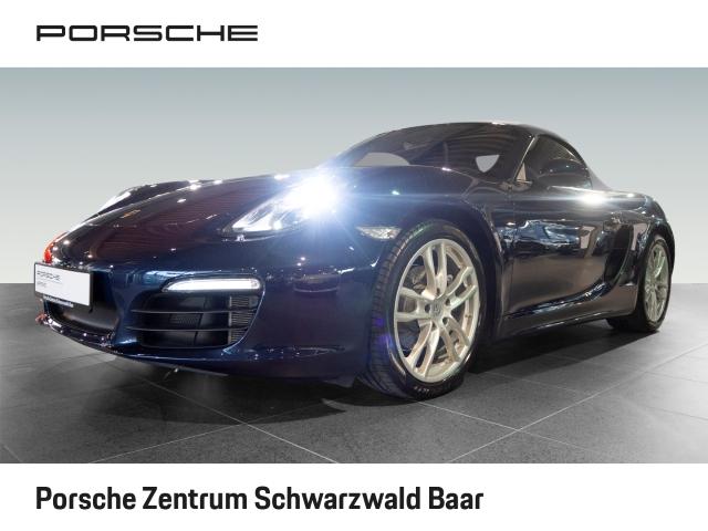 Porsche Boxster PDK PCM-Navigation 19-Zoll ERSTBESITZ, Jahr 2015, Benzin