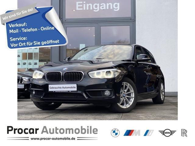 BMW 118d Advantage Navi LED Shz PDC Tempo. Klimaaut., Jahr 2017, Diesel