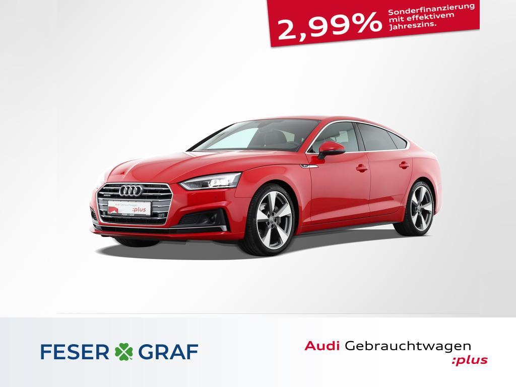 Audi A5 Sportback S line 2.0 TDI S tronic 3x S line/S, Jahr 2018, Diesel