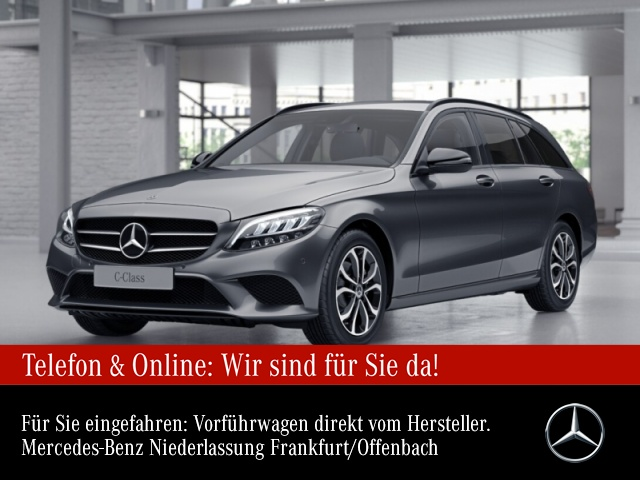 Mercedes-Benz C 200 T Avantgarde LED Night Kamera Spurhalt-Ass, Jahr 2020, Benzin