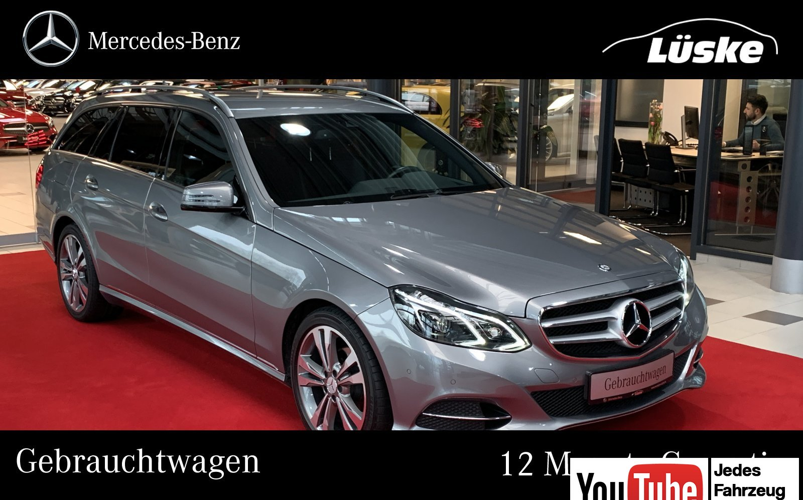 Mercedes-Benz E 220 T CDI AVANTGARDE LED Intelligent Light SHZ, Jahr 2014, Diesel