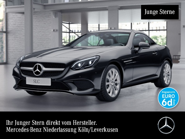 Mercedes-Benz SLC 300 Pano COMAND ILS LED Airscarf Totwinkel PTS, Jahr 2019, Benzin