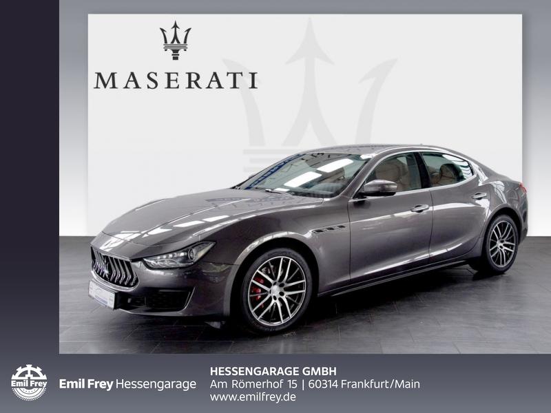 Maserati Ghibli Aut Softclose Totwinkel 19'' DAB Leder Navi, Jahr 2018, Diesel