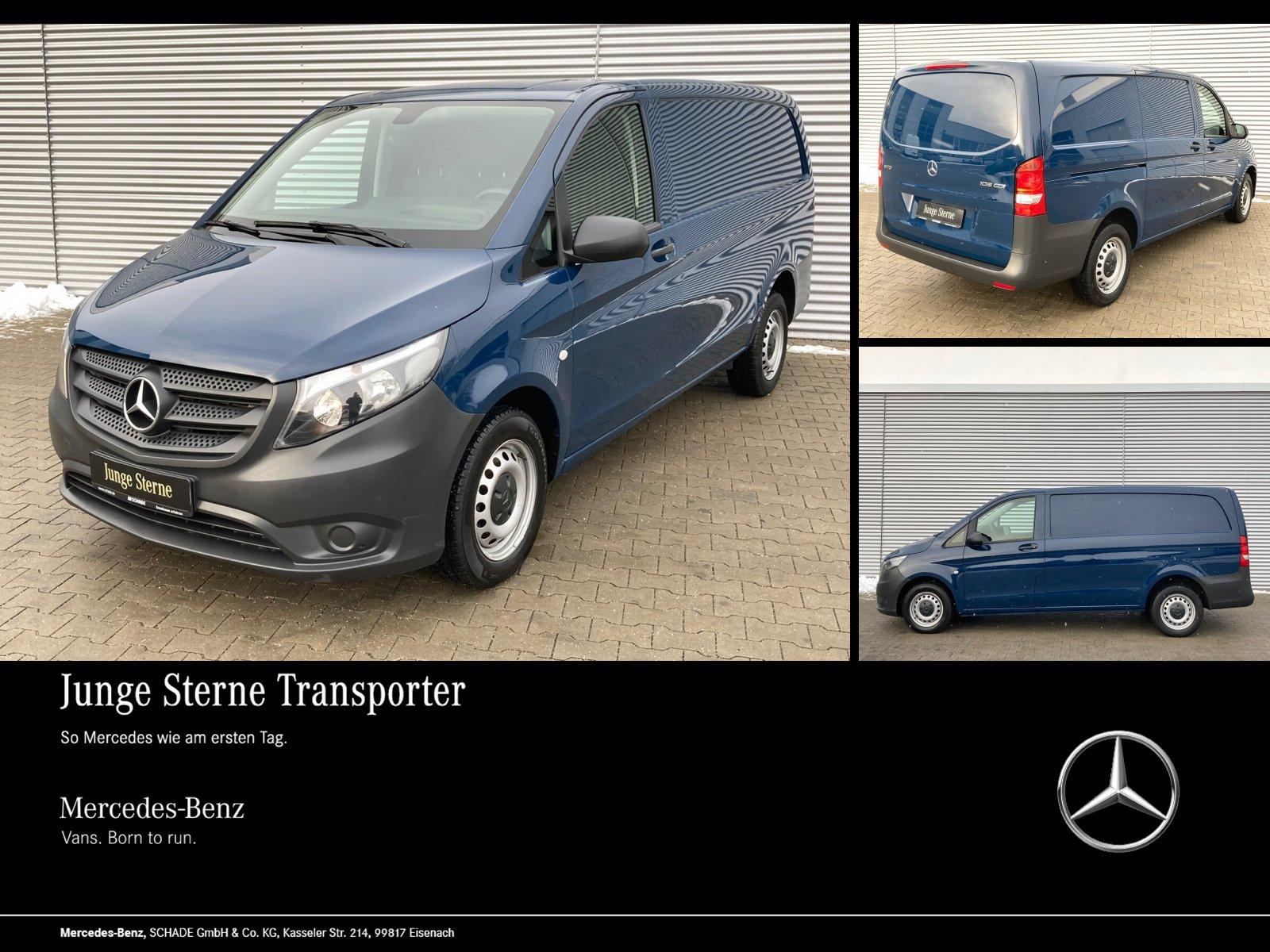 Mercedes-Benz VITO 109 116 KASTEN LANG KLIMA RADIO 70L TANK, Jahr 2017, Diesel