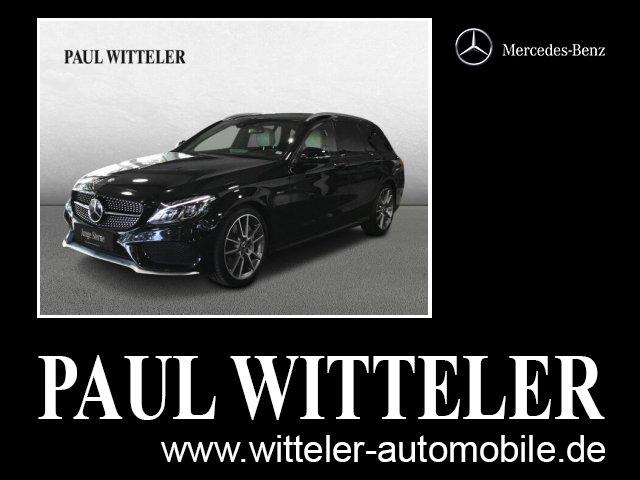 Mercedes-Benz C 450 AMG 4MATIC T Distronic/Comand/Surround-Sou, Jahr 2016, Benzin