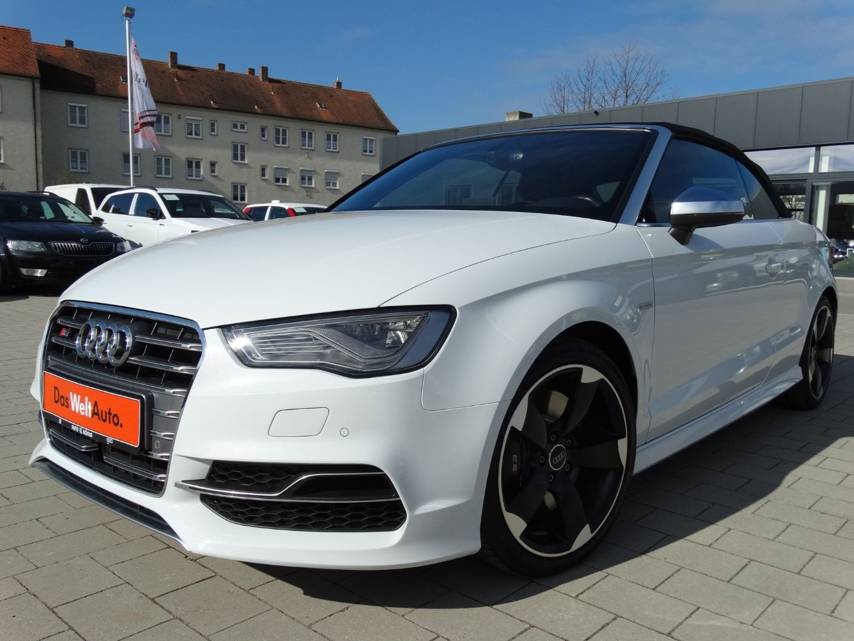 Audi S3 Cabriolet 2.0 TFSI *QUATTRO*ACC*B&O*, Jahr 2015, petrol