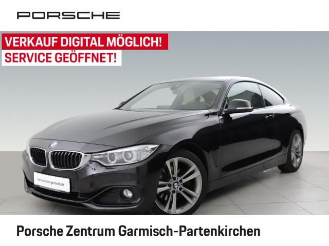BMW 425 d Sport Line Coupe 2-Zonen-Klimaautom SHZ, Jahr 2016, Diesel