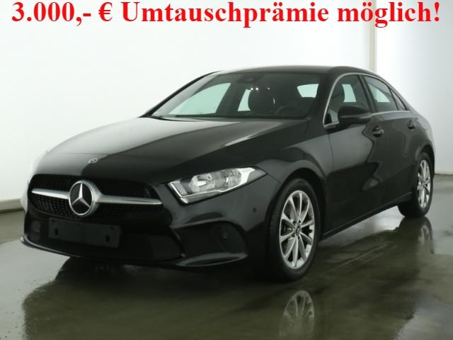 Mercedes-Benz A 180 Progressive Limousine+7G-DCT+Navi-Prem+Business-P, Jahr 2019, Benzin