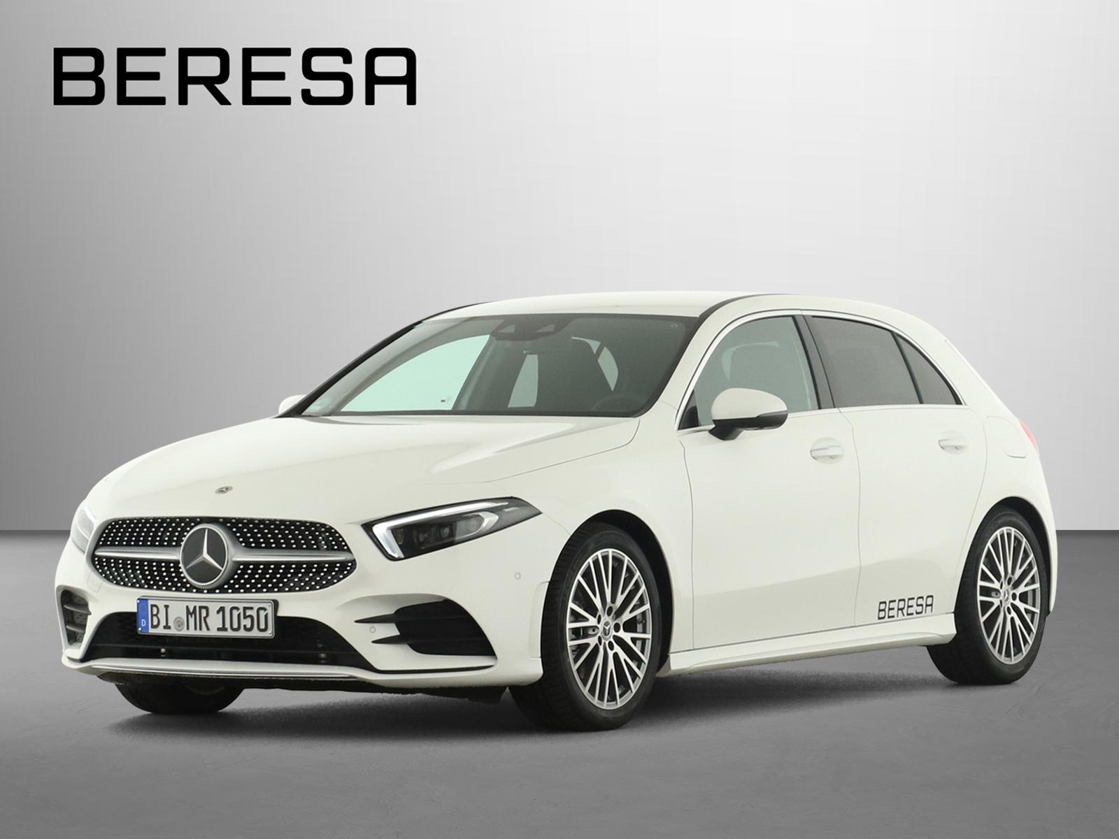 Mercedes-Benz A 220 d AMG Sitzklima HUD Sound Distronic Leder, Jahr 2021, Diesel