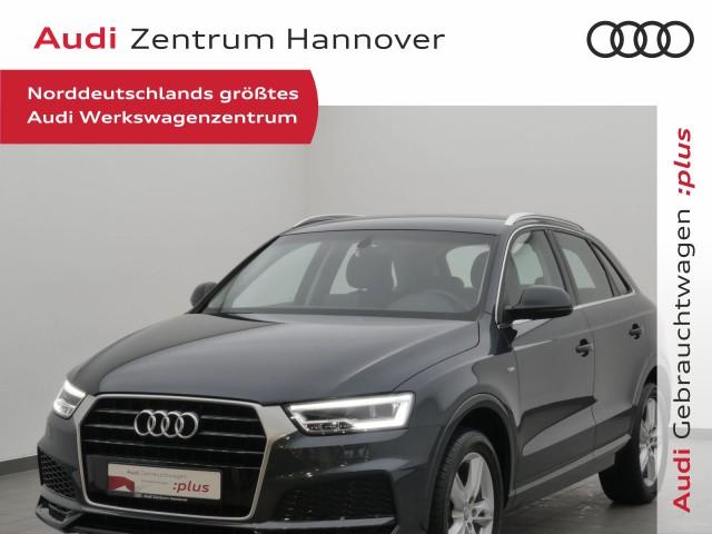 Audi Q3 1.4 TFSI Sport Navi LED Alcantara S-line Sel., Jahr 2017, Benzin