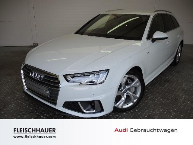 Audi A4 Avant sport 40 TDI S tronic UPE: 62.515 LED Sitzheizung DAB Einparkhilfe Rückfahrkamera, Jahr 2018, Diesel