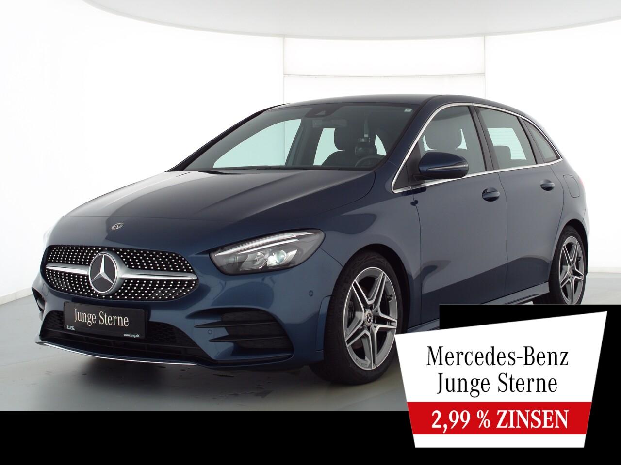 Mercedes-Benz B 200 d AMG+MBUX+NavPrem+LED-HP+EHeckk+ParkA+RFK, Jahr 2020, Diesel