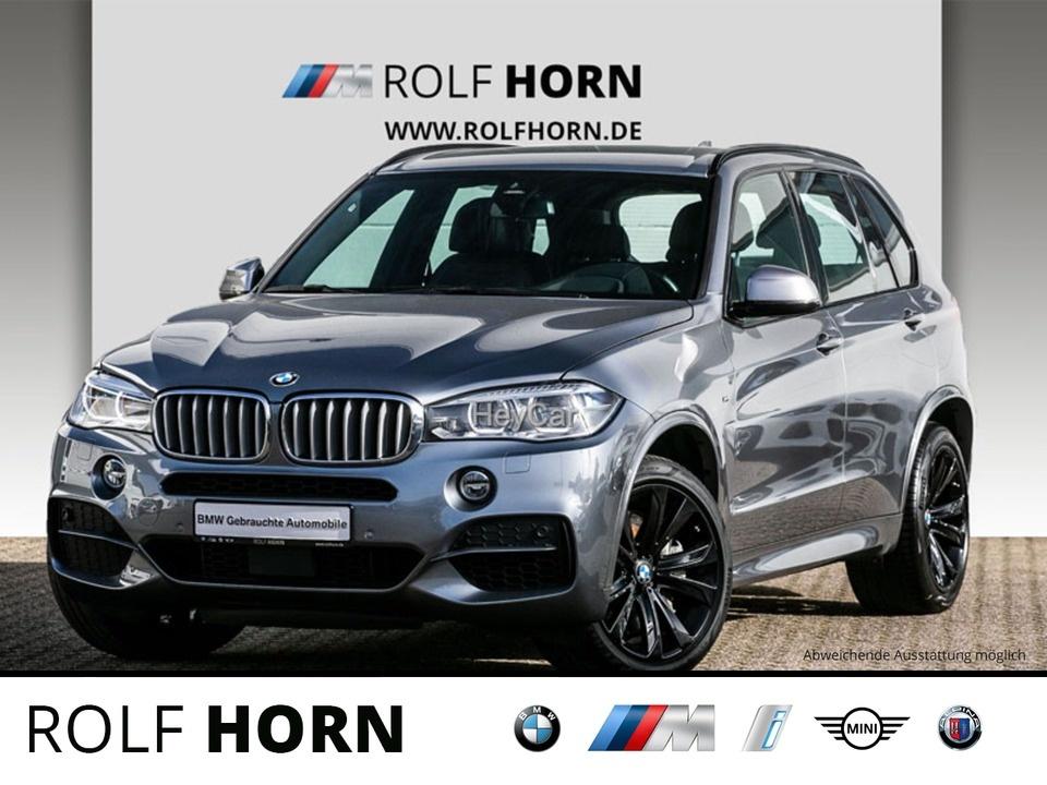 BMW X5 M50d M Sportpaket LED AHK RKam HUD 20'' EURO 6, Jahr 2017, Diesel